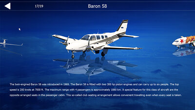 A VOR flight veteran: The Beechcraft Baron 58